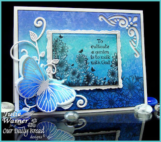 Stamps - Our Daily Bread Designs Bookmarks - Verses, Daisy Background, Butterfly Die,  Bookmarks - Trees