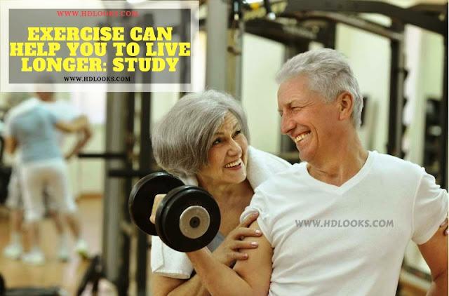 exercise live longer