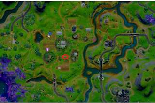 Where to spoil the Mole sabotage attempt Fortnite location