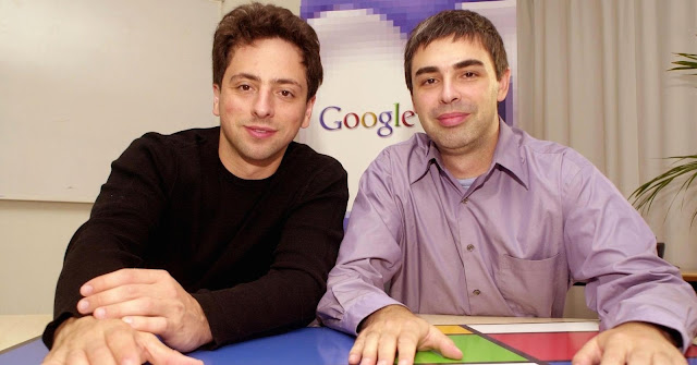 Sergey Brin, Larry Page, google, internet, technology