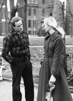 On the Waterfront - Marlon Brando and Eva Marie Saint
