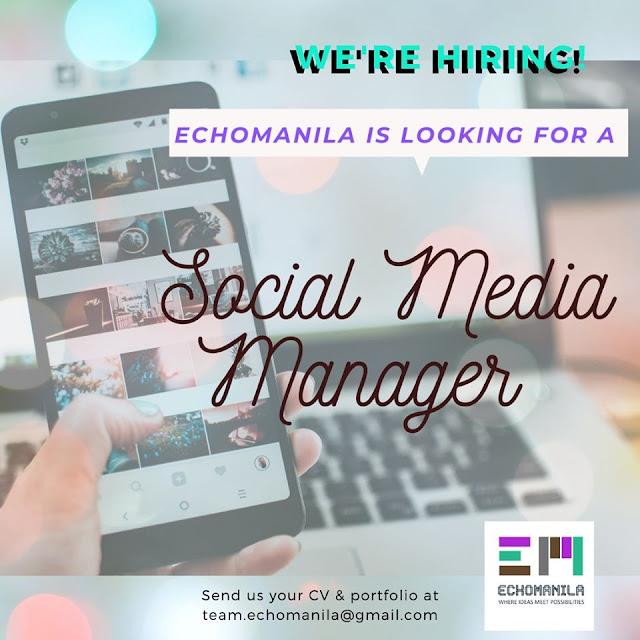 Job Opportunities at Echomanila