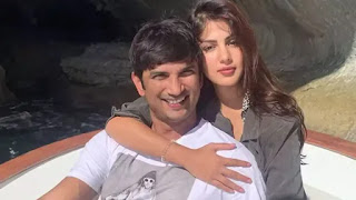sushant singh rajput with rhea chakrborty on vacation