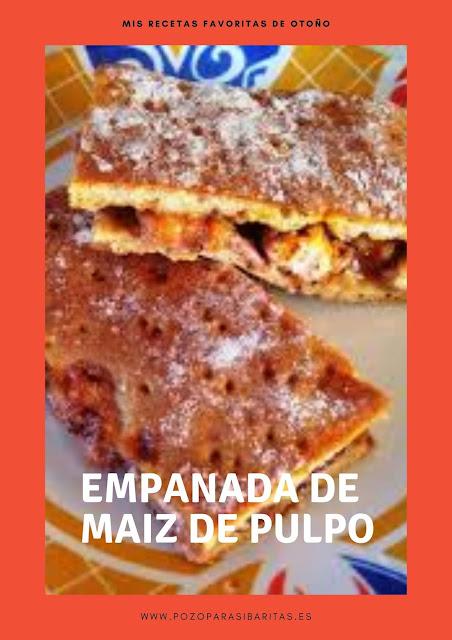 Empana de Maiz con Pulpo