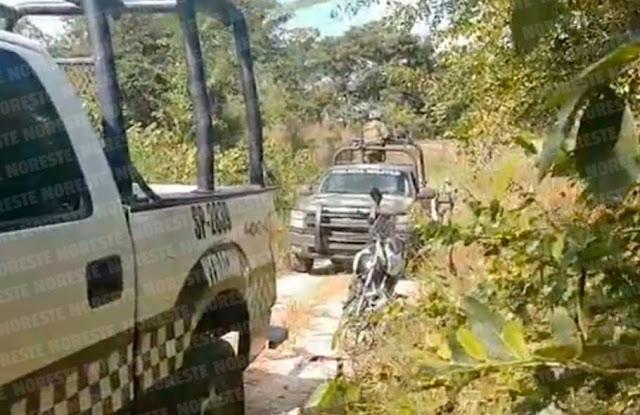 Hallan cuerpo embolsado en brechas que llevan al Cerro del Mesón, en Poza Rica