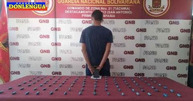 POSITIVO PARA COCAÍNA   3 individuos expulsaron por el trasero 237 dediles de droga