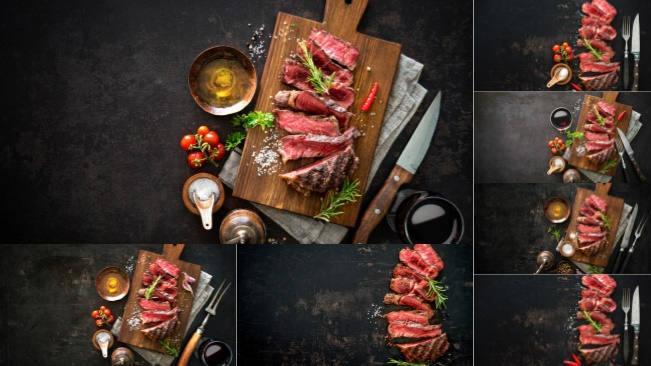 تحميل 7 صور عالية الدقة للحم مع خلفية حديثة