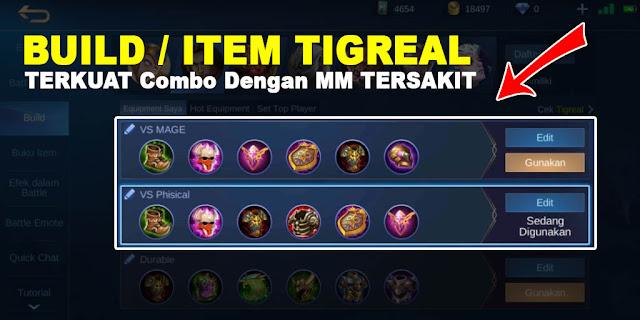 Berikut ini adalah Build Tigreal Terkuat dan Tersakit yang bisa kamu gunakan