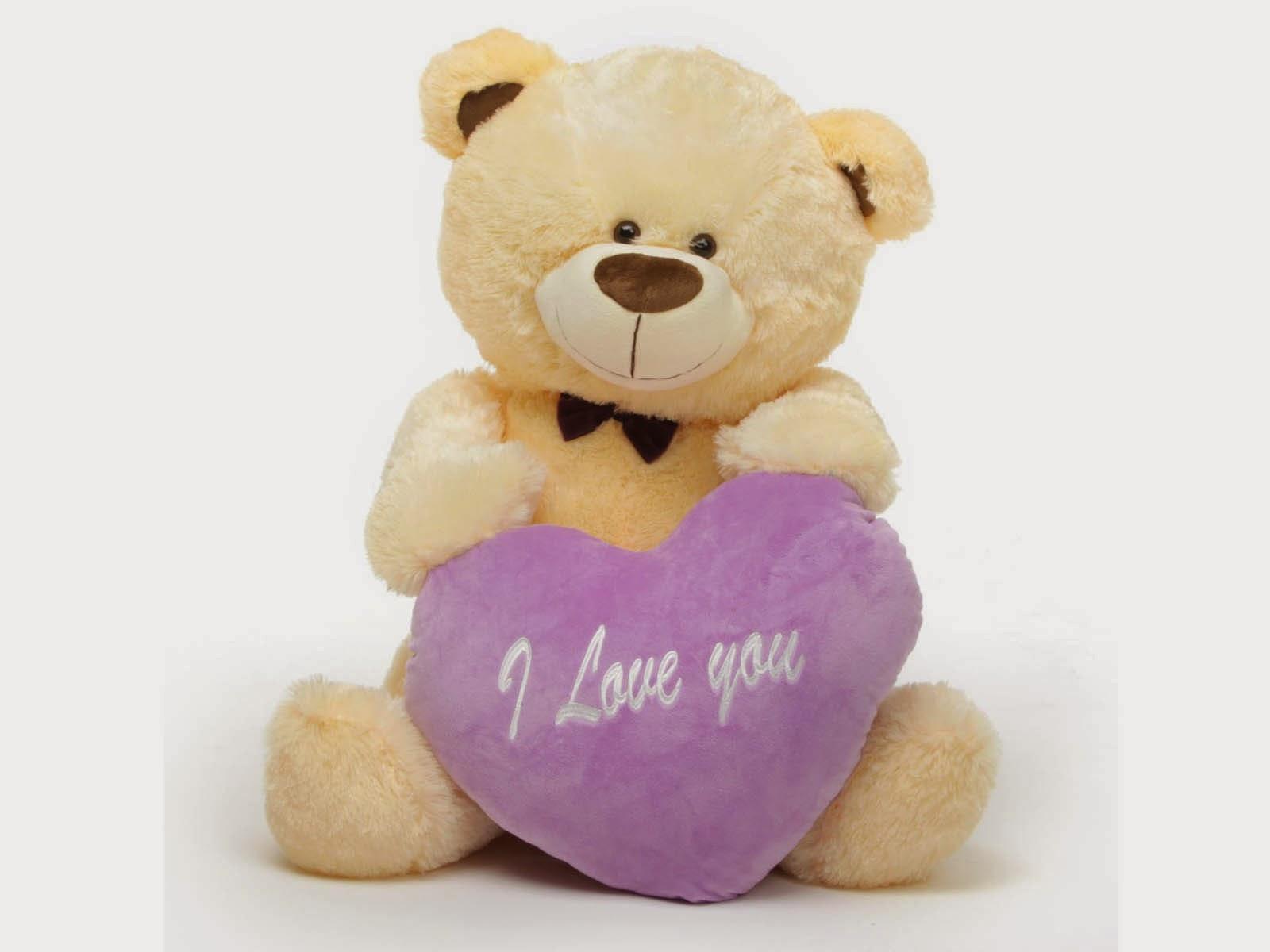 Free Download HD Wallpapers: Cute Teddy Bear Love HD