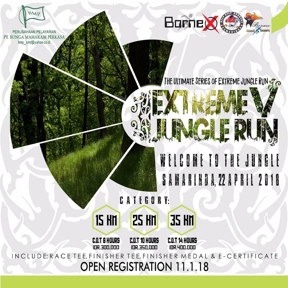 Extreme Jungle Run V • 2018