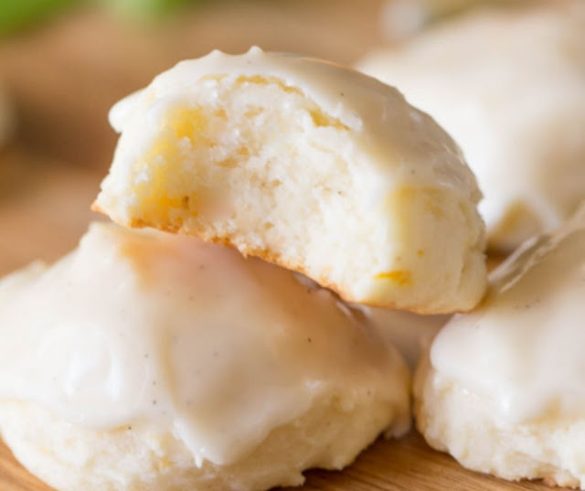 Orange Ricotta Cookies