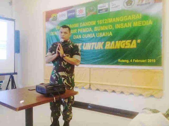 Rudi Markiano Simangunsong Jalin Sinergi dengan Seluruh Elemen di Manggarai