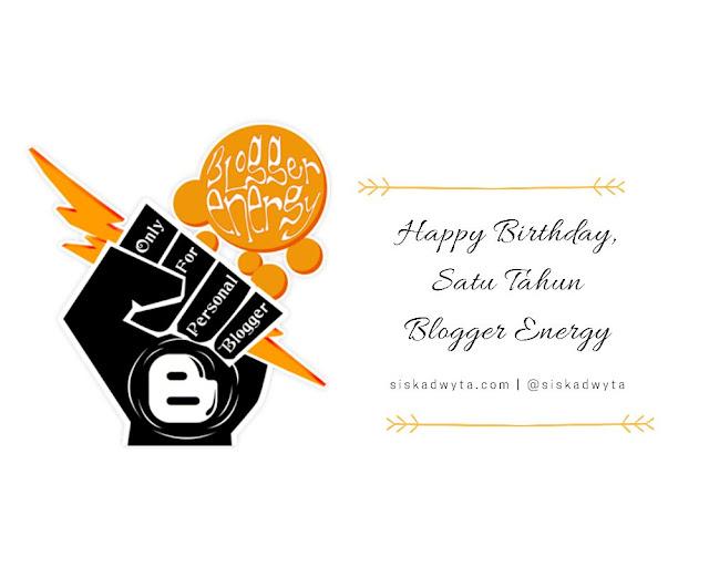 Satu tahun blogger energy