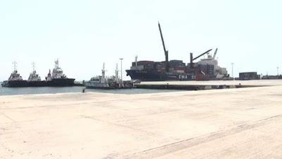 نواذيبو : المنطقة الحرة تتسلم التوسعة الجديدة لميناء نواذيبو المستقل..-صور