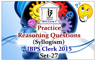 Practice Reasoning Questions (Syllogism)