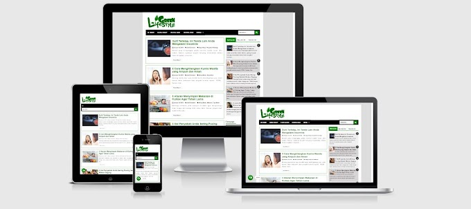 Template Green Lifestyle Redesign Vio Magz