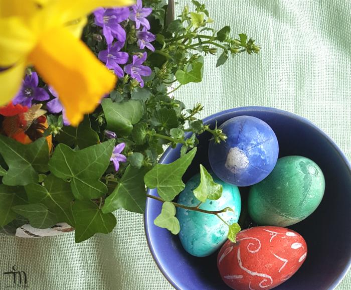 maalatut pääsiäismunat - painted eastereggs