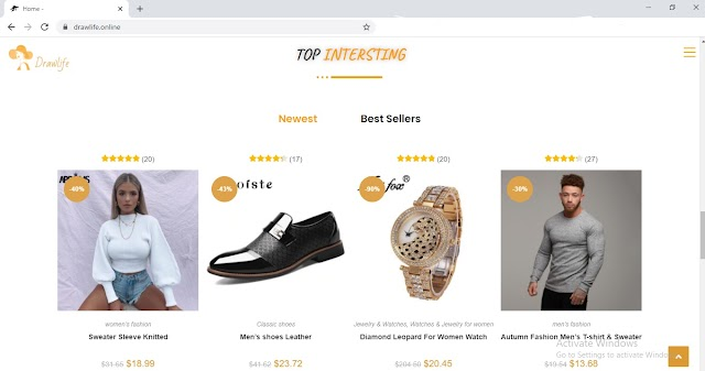 Aliexpress affiliate website for sell