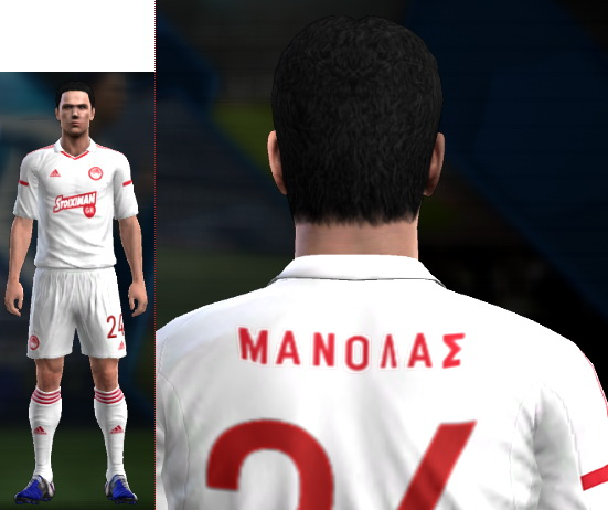 76389127a43 ultigamerz  PES 2013 Olympiakos 2016-17 Third Kit with Greek Fonts