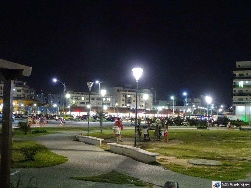 O que fazer em Cabo Frio à noite - Praça da Cidadania