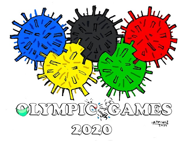 H προφητική γελοιογραφία για την ακύρωση των Ολυμπιακών αγώνων Τόκιο 2020
