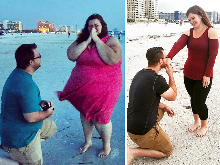 Incredible Before And After Pictures Of A Woman Who Used To Weigh 485lbs