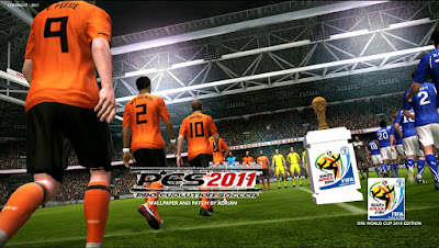 PES 2011 Patch World Cup 2010 South Africa + All Updates