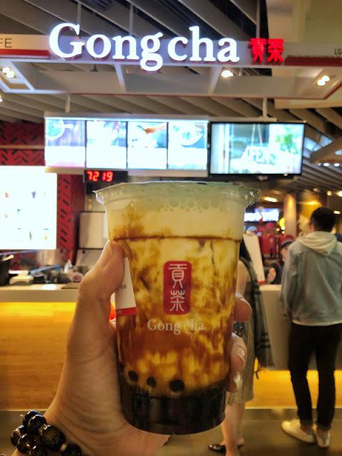 GONG CHA 贡茶 黑糖珍珠鲜奶