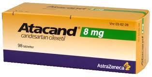 سعر ودواعى إستعمال أتاكاند Atacand أقراص لعلاج ضغط الدم المرتفع