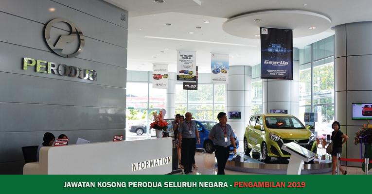 Jawatan Kosong di Perodua 2018 / 2019