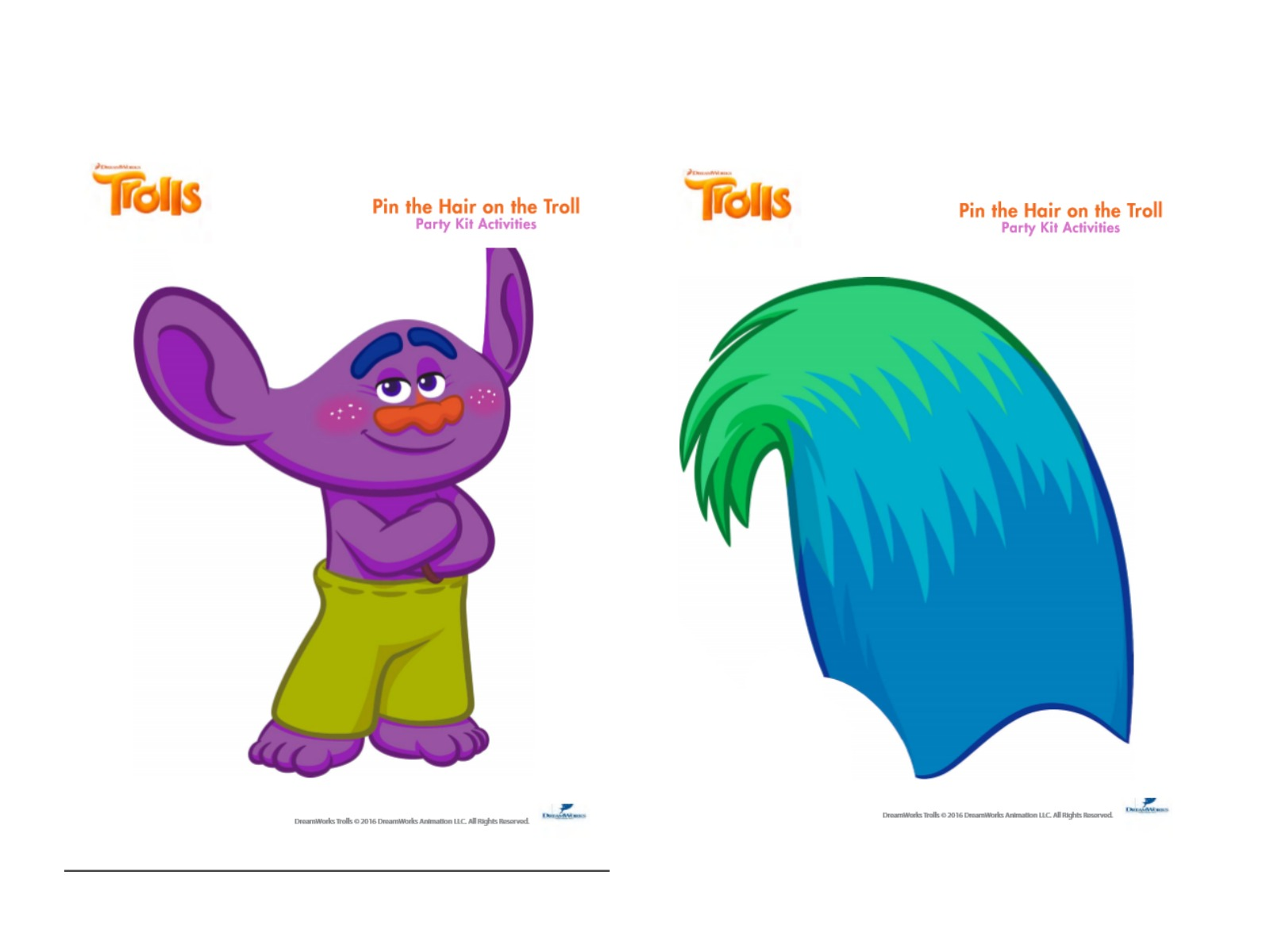 image about Trolls Printable referred to as Musings of an Common Mother: Nearly anything Yourself Have to have for a Trolls