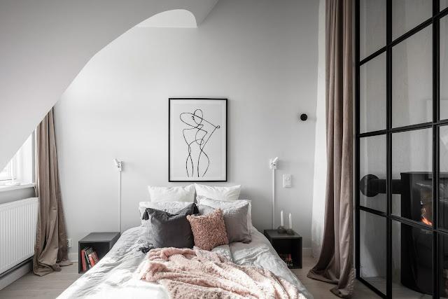 Дизайн-проекты. Скандинавский стиль с модными акцентами в Швеции