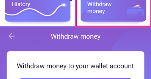 How to withdraw money from Banners App?