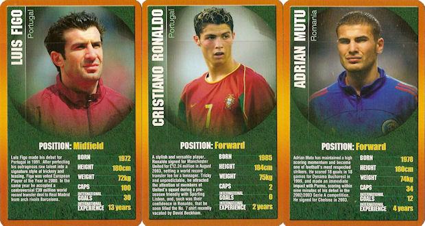 European Football Stars 2004 Top Trumps Card Paolo Maldini Italy