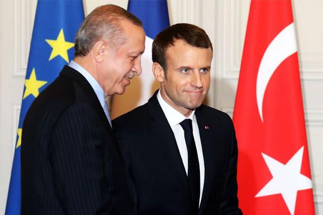 Αν επιμείνει ο Ερντογάν, η Γαλλία θα στείλει ερευνητικό πλοίο στην Κρήτη
