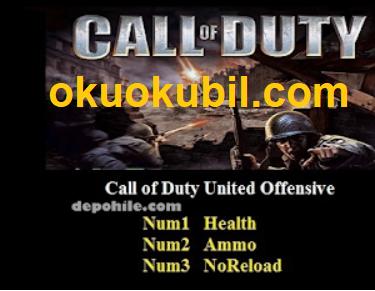 Call of Duty Deluxe Edition (PC) Sınırsız Can - Mermi +3 Trainer Güncel  Hilesi İndir 2020