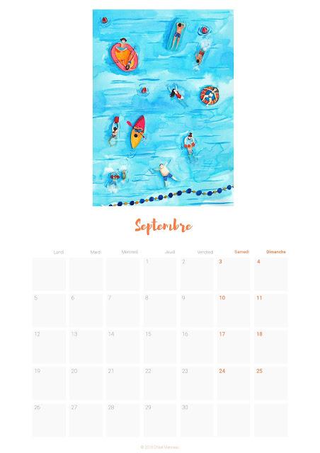 \\Télécharger le calendrier de septembre //