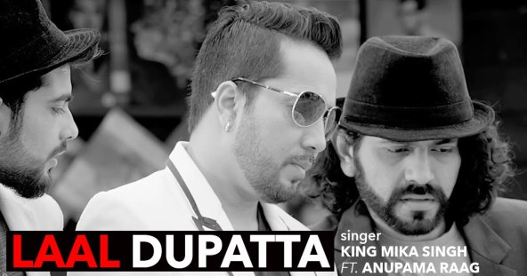 Laal Dupatta Lyrics MP3 Mp4 Download - Mika Singh Urvashi Rautela