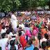 शिक्षामित्रों ने निकाली मुख्यमंत्री योगी आदित्यनाथ की अर्थी