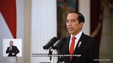 Komitmen Presiden Terhadap Penyandang Disabilitas