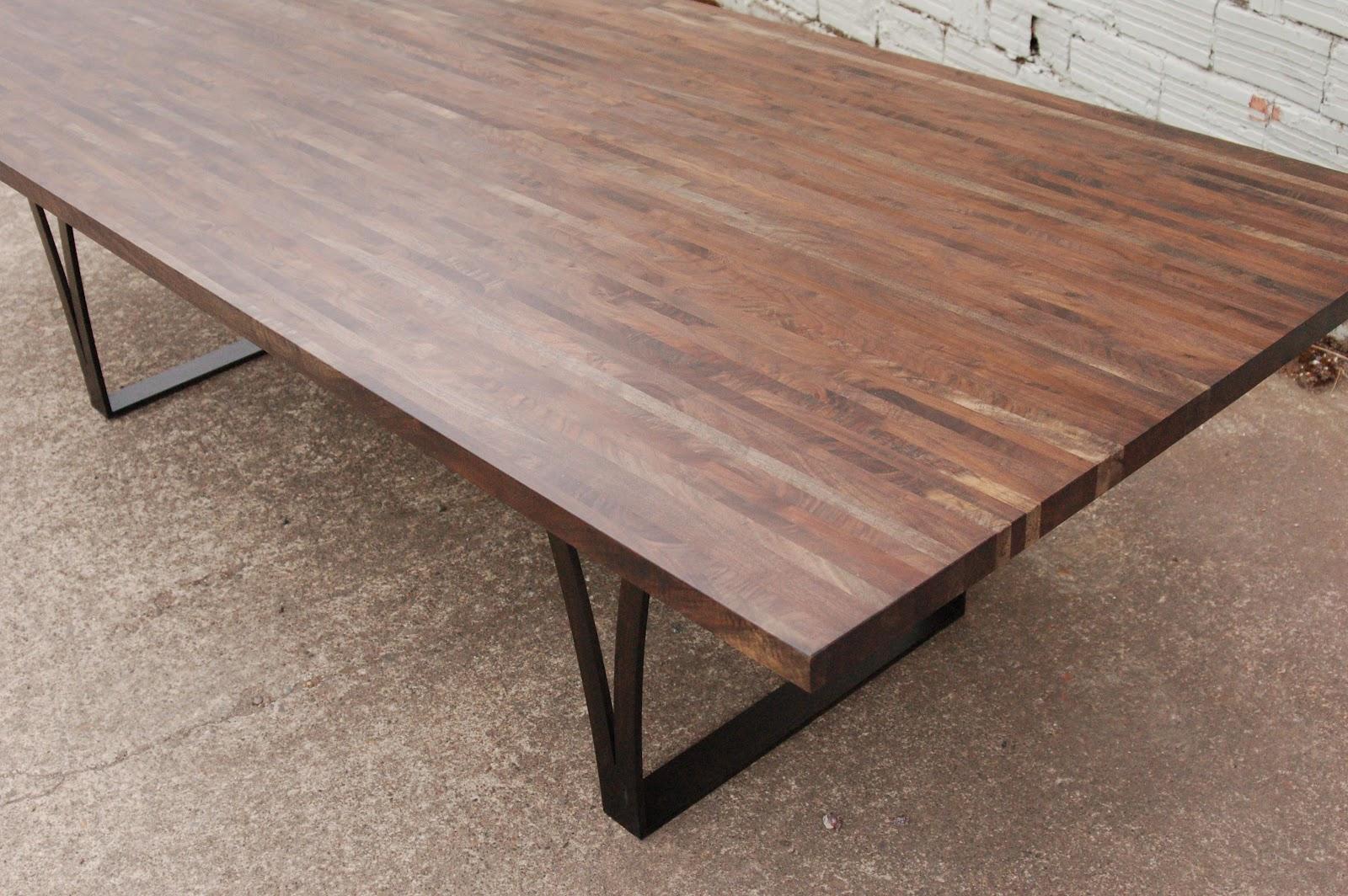 Deadfall oregon black walnut dining table and a sideboard ...