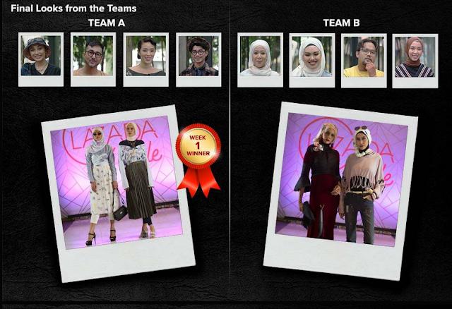LazAdaStyle Fashion Reality TV Show Episod 1