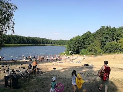 jezioro, Józefowo, jezioro w Józefowie, plaża