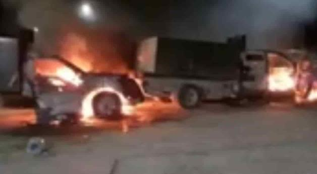 Video: Infernal enfrentamiento entre el Cártel del Golfo y Cártel Del Noreste/Zetas deja Sicarios calcinados en Miguel Alemán y Los Guerra; Tamaulipas