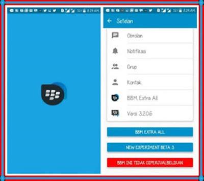 BBM Mod Multi Clone (BBM1 + BBM2 + BBM3 + BBM4) v3.2.3.11 Apk