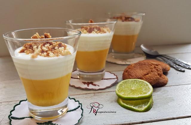 Lima Curd con yogur