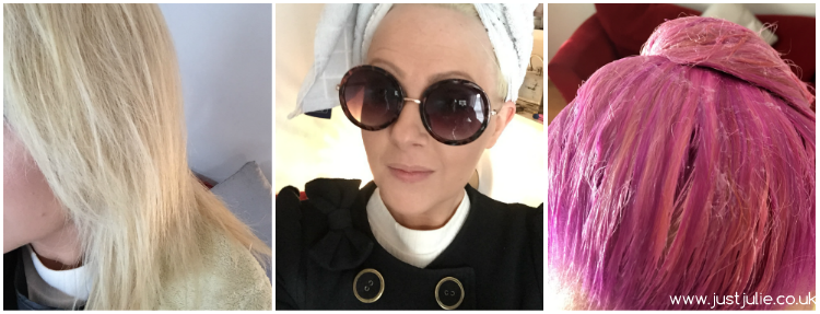 50 shades of pink...  How I went from Dirty Blonde to Pastel Pink