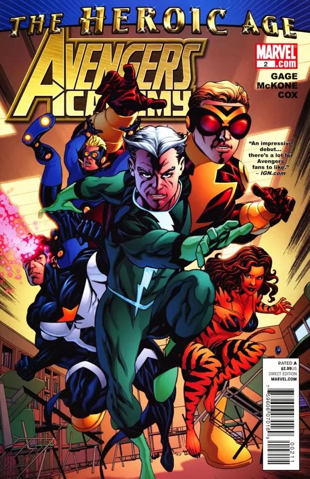 Avengers Academy Issue #2   Episode 2   Igor11 Online