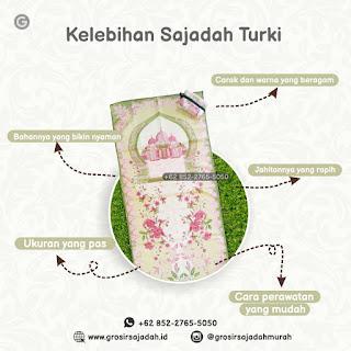 kelebihan sajadah turki | +62 852-2765-5050