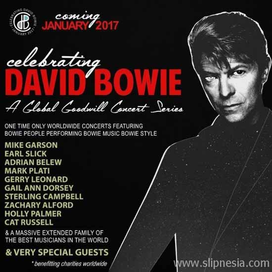 Celebrating David Bowie Poster